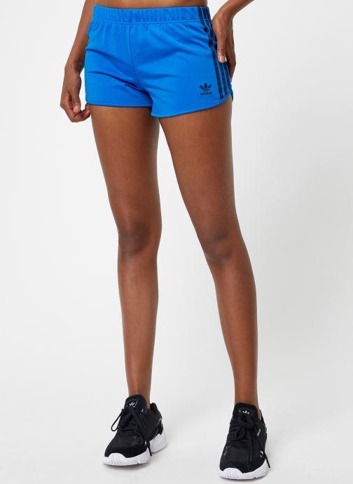 Kleding adidas originals 3 Str Short Blauw detail