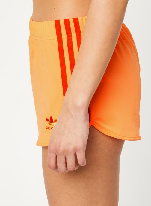 Vêtements adidas originals 3 Str Short Orange vue face