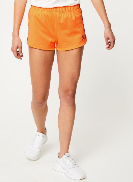 Vêtements adidas originals 3 Str Short Orange vue détail/paire