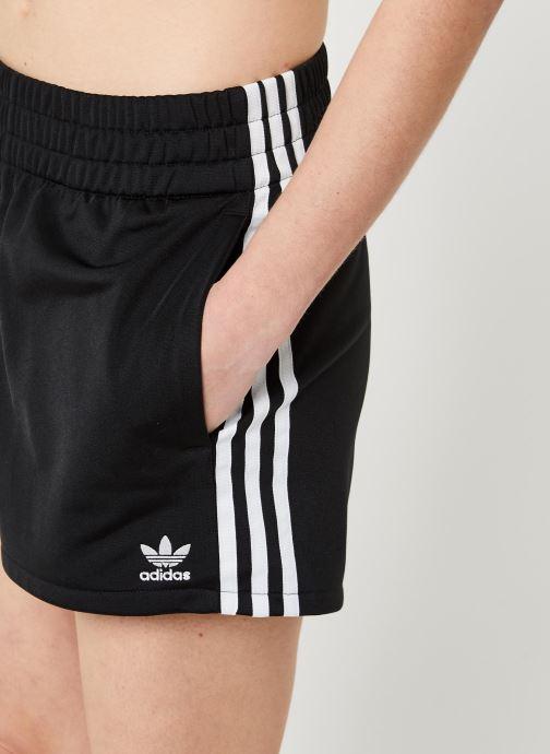 Vêtements adidas originals 3 Str Short Noir vue face