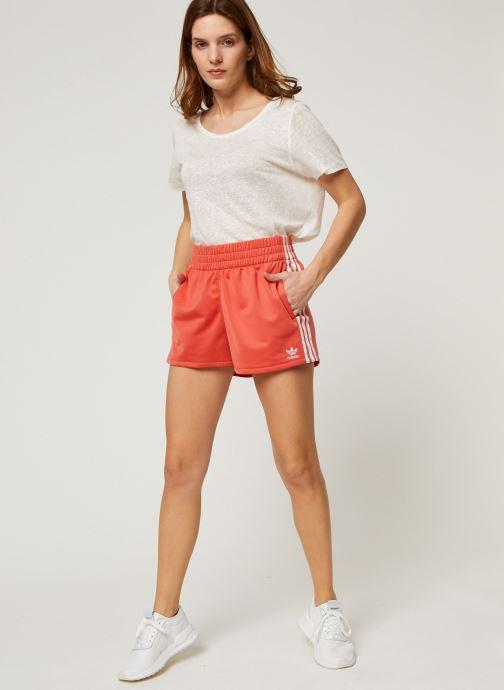 Vêtements adidas originals 3 Str Short Orange vue bas / vue portée sac