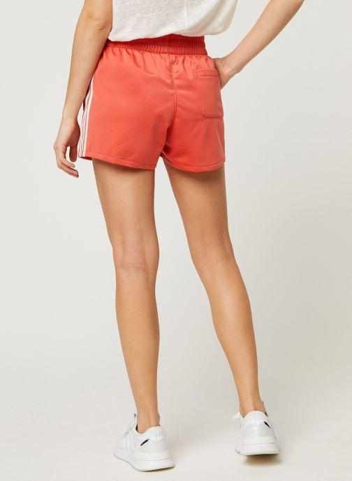 Vêtements adidas originals 3 Str Short Orange vue portées chaussures