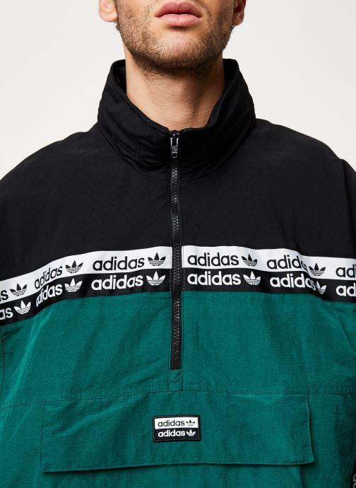 Vêtements adidas originals Mini Emb Hoody Vert vue face