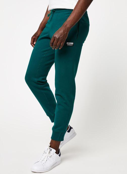 Vêtements adidas originals Vocal Swpant Vert vue détail/paire