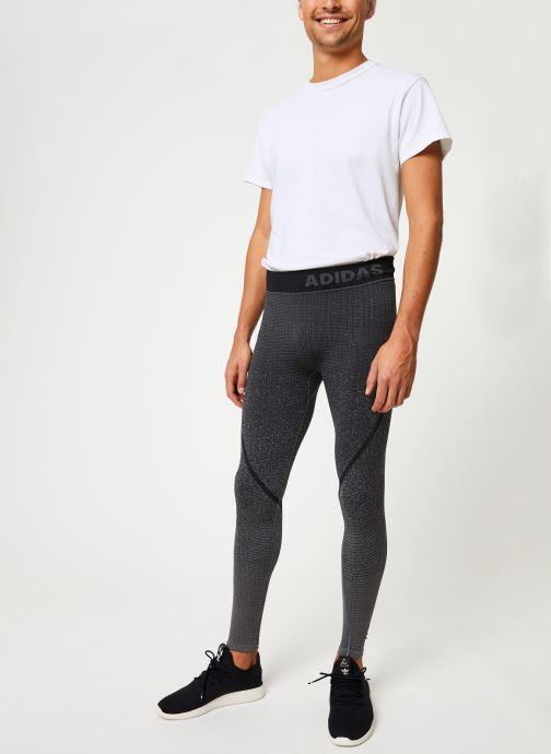 Vêtements adidas performance Ask 360 Lt Sl Gris vue bas / vue portée sac