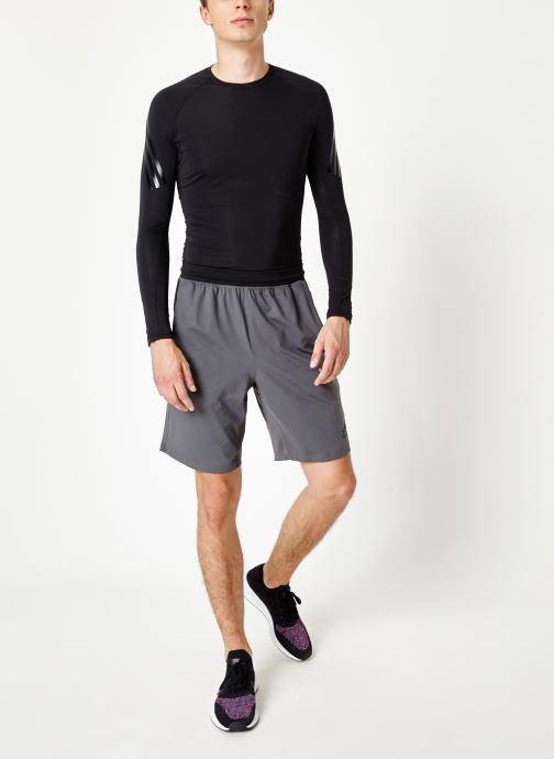 Vêtements adidas performance 4K_Spr A Ult 9 Gris vue bas / vue portée sac