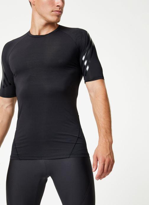 Vêtements adidas performance Ask Tec Ss 3S Noir vue détail/paire