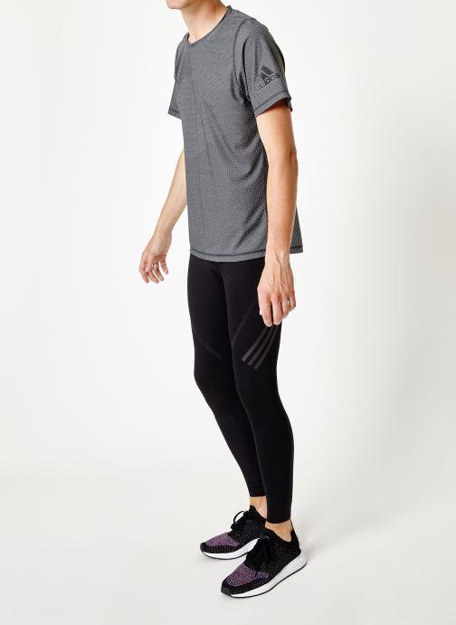 Vêtements adidas performance Ask 360 Lt 3S J Noir vue bas / vue portée sac