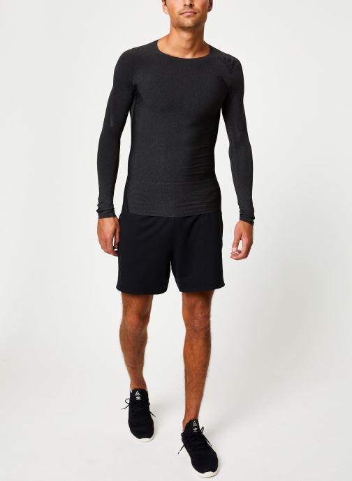 Vêtements adidas performance Ask 360 Ls 3S D Noir vue bas / vue portée sac