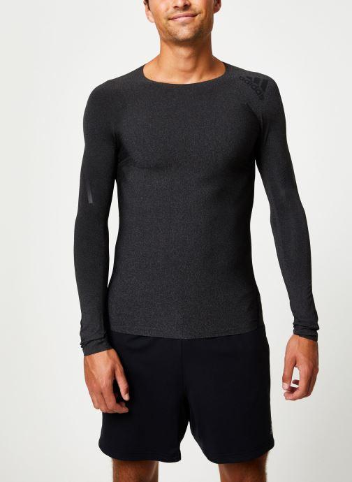 Vêtements adidas performance Ask 360 Ls 3S D Noir vue droite