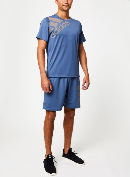 Vêtements adidas performance Fl_Spr Gf Bos Bleu vue bas / vue portée sac