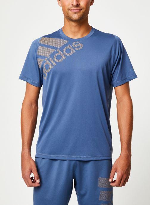 Vêtements adidas performance Fl_Spr Gf Bos Bleu vue droite