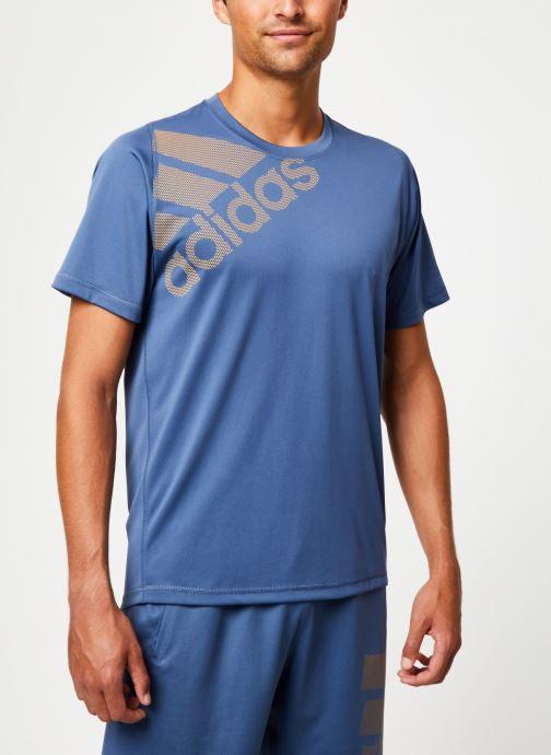 Vêtements adidas performance Fl_Spr Gf Bos Bleu vue détail/paire