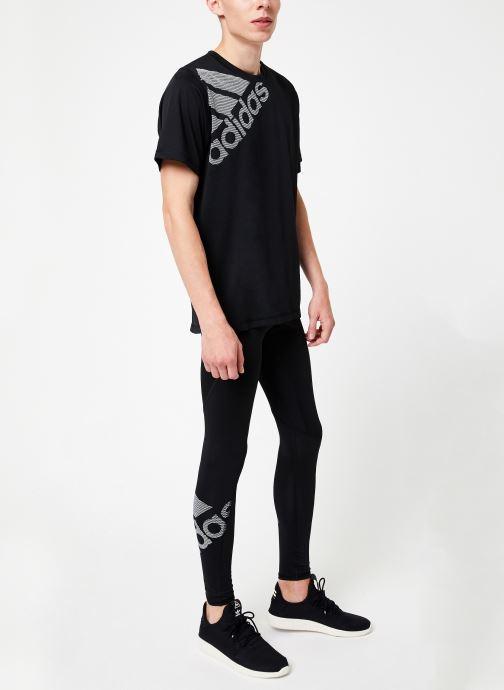Vêtements adidas performance Ask Spr Lt Bos Noir vue bas / vue portée sac