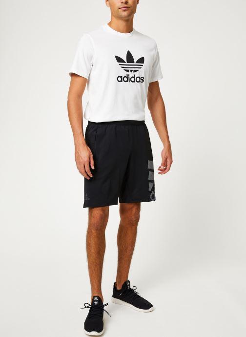Vêtements adidas performance 4K_Spr Gf Bos Noir vue bas / vue portée sac