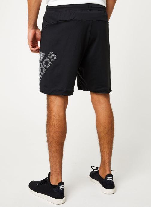 Vêtements adidas performance 4K_Spr Gf Bos Noir vue portées chaussures