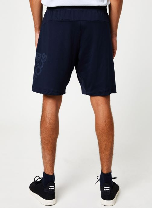 Vêtements adidas performance 4K_Spr Gf Bos Bleu vue portées chaussures