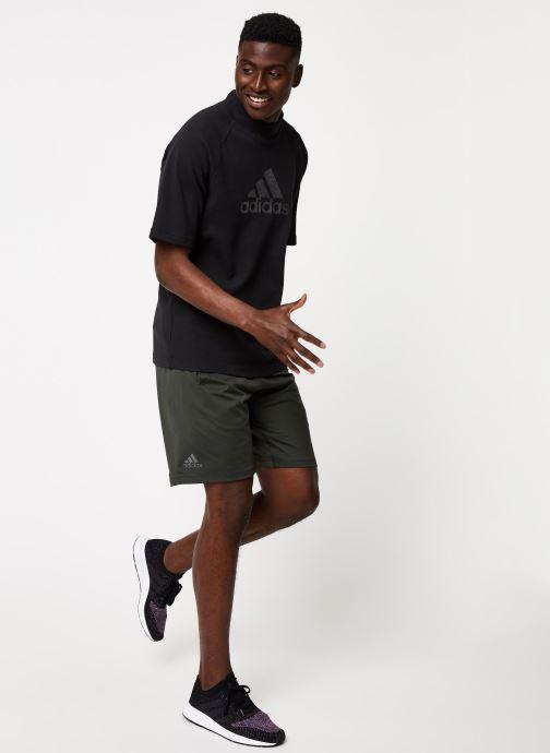 Vêtements adidas performance 4K_Spr Gf Bos Gris vue bas / vue portée sac