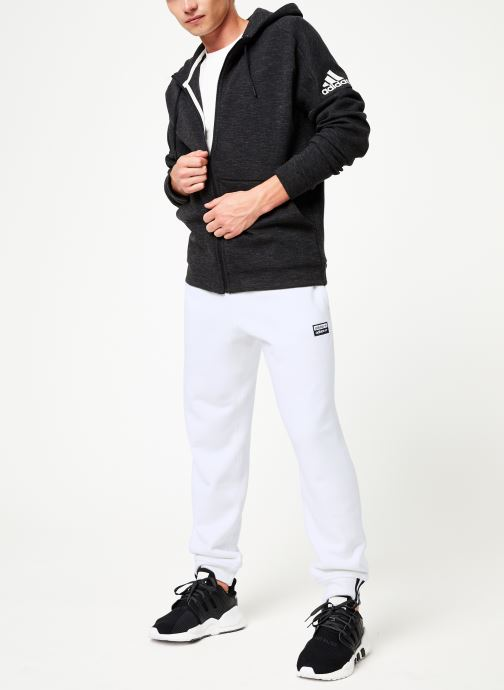 Vêtements adidas performance Id Stadium Fz Noir vue bas / vue portée sac