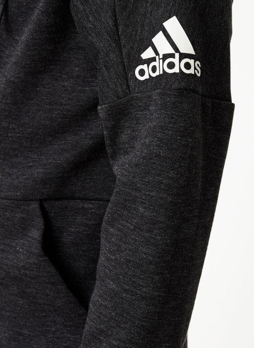 Vêtements adidas performance Id Stadium Fz Noir vue face