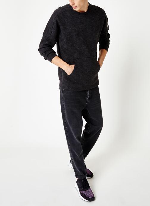 adidas performance Sweatshirt - Idstadium Cr (Gris) - Vêtements (399413)