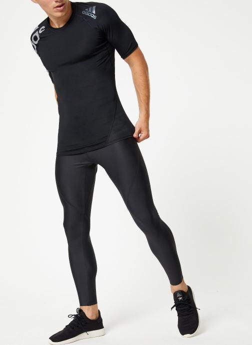 Vêtements adidas performance Ask Spr Ss Bos Noir vue bas / vue portée sac