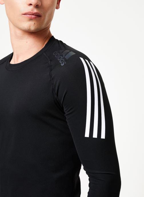 Vêtements adidas performance Ask Spr Ls 3S Gris vue face