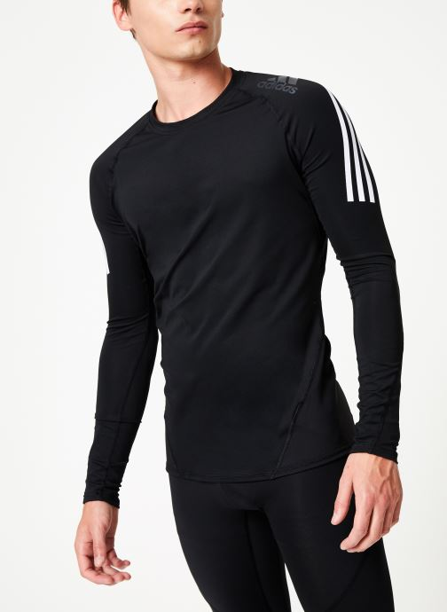 Vêtements adidas performance Ask Spr Ls 3S Gris vue droite
