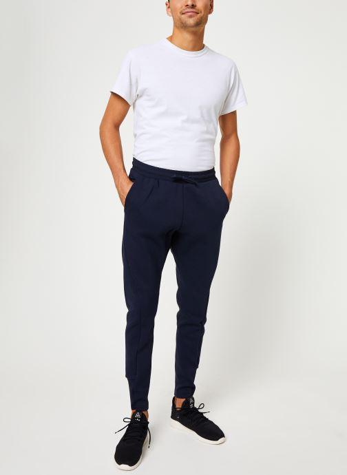 Vêtements adidas performance M V Pant Bleu vue bas / vue portée sac