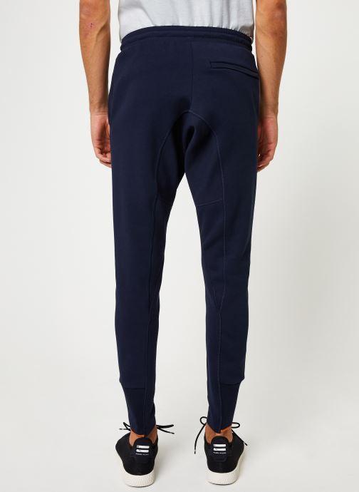 Vêtements adidas performance M V Pant Bleu vue portées chaussures