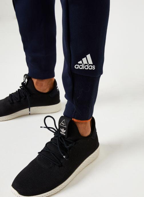 Vêtements adidas performance M V Pant Bleu vue face