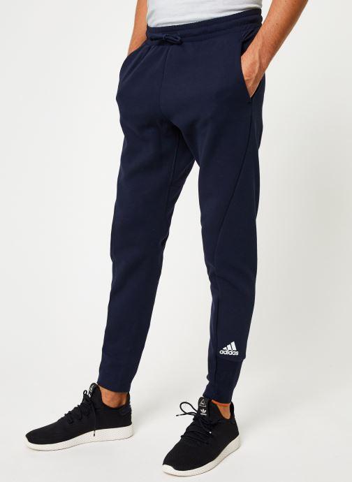 Vêtements adidas performance M V Pant Bleu vue détail/paire