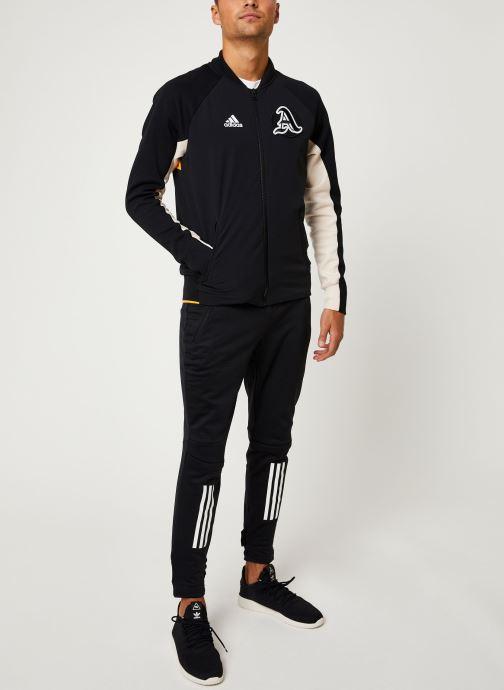 Vêtements adidas performance M V.City Jacket Noir vue bas / vue portée sac