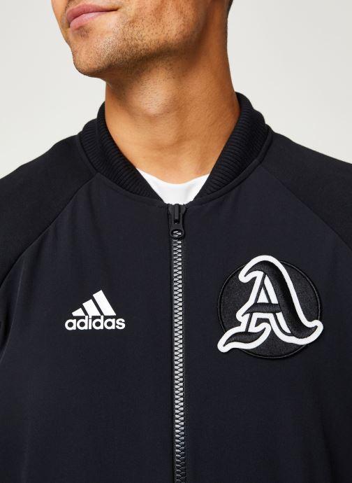 Vêtements adidas performance M V.City Jacket Noir vue face