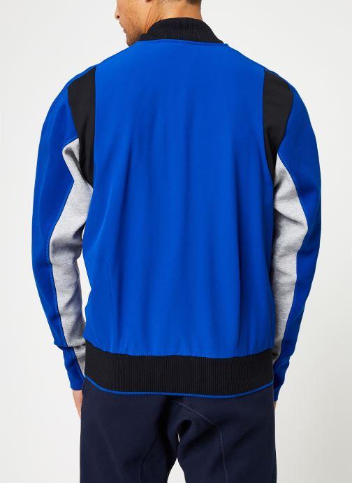 Vêtements adidas performance M V.City Jacket Bleu vue portées chaussures