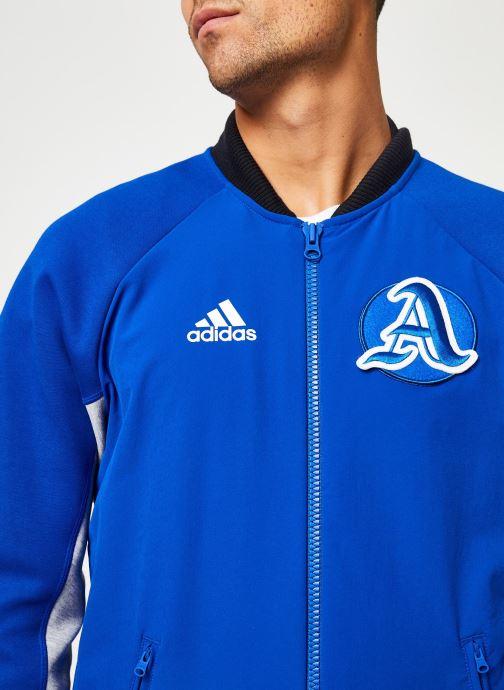 Vêtements adidas performance M V.City Jacket Bleu vue face