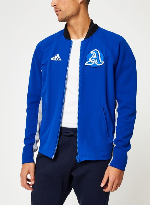Vêtements adidas performance M V.City Jacket Bleu vue droite