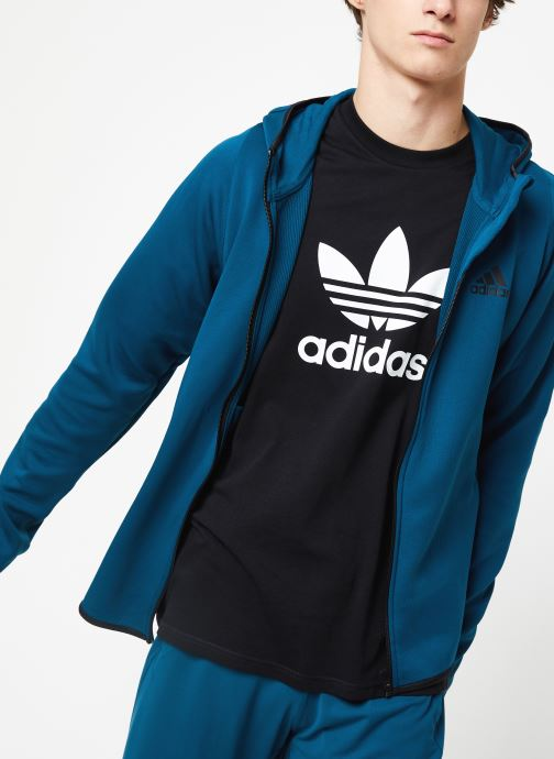 Vêtements adidas performance Warm Hoodie Bleu vue détail/paire