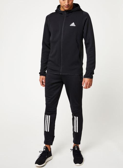 Kleding adidas performance Warm Hoodie Zwart onder