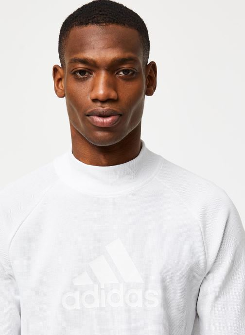 Vêtements adidas performance M Id Winter Tee Blanc vue face