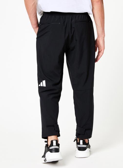 Vêtements adidas performance Tp 7/8 Pant Noir vue portées chaussures