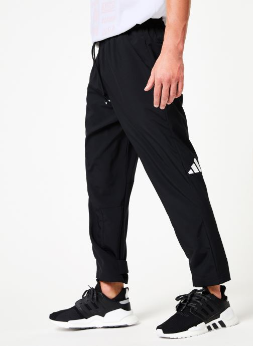 Vêtements adidas performance Tp 7/8 Pant Noir vue détail/paire