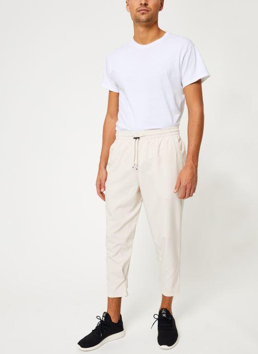 Vêtements adidas performance Tp 7/8 Pant Beige vue bas / vue portée sac
