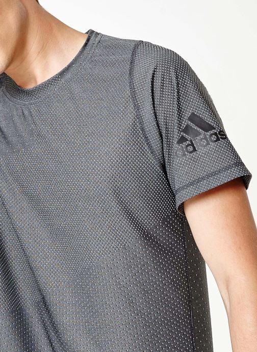 Vêtements adidas performance Knit Jacqd T Noir vue face