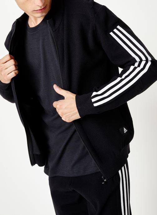 Vêtements adidas performance M Id Knit Tt Noir vue droite