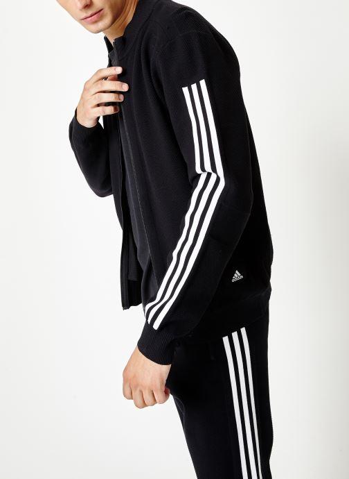 Vêtements adidas performance M Id Knit Tt Noir vue détail/paire
