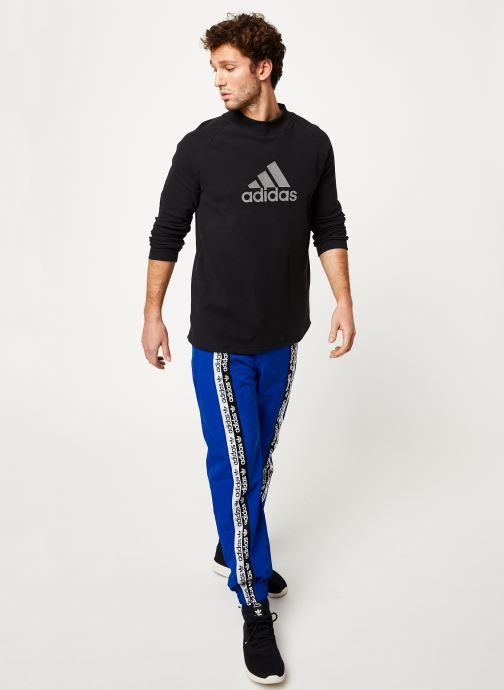 Kleding adidas performance M Id Winter Ls Zwart onder