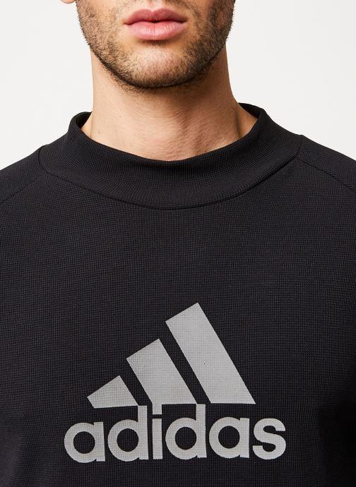 Kleding adidas performance M Id Winter Ls Zwart voorkant