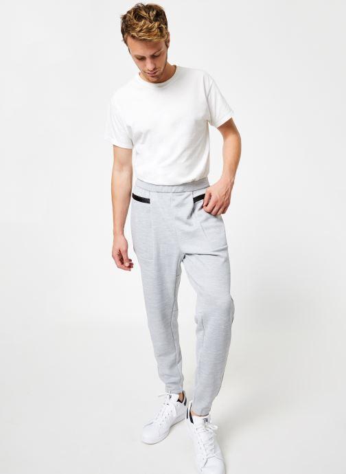 Vêtements adidas performance M Id Sweat Pt Gris vue bas / vue portée sac
