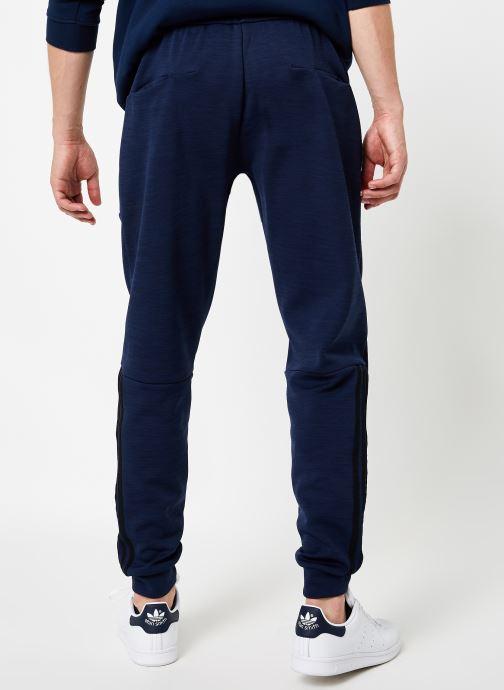 Vêtements adidas performance M Id Sweat Pt Bleu vue portées chaussures